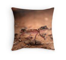 Gecko, Simpson Desert Throw Pillow