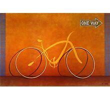 One Way 2 Photographic Print