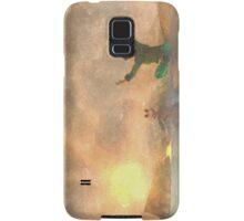 Yoga face to the Sun - 瑜伽面对太阳 Samsung Galaxy Case/Skin