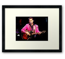 The Crooner Framed Print