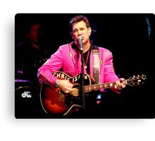 The Crooner Canvas Print