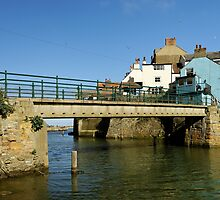 Bridge Over Staithes Beck by Rod Johnson