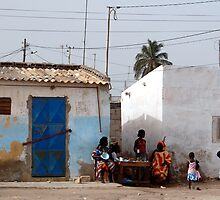 The Streets of Dakar by Lauren Barkume