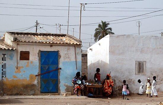 The Streets of Dakar by Lauren Barkume
