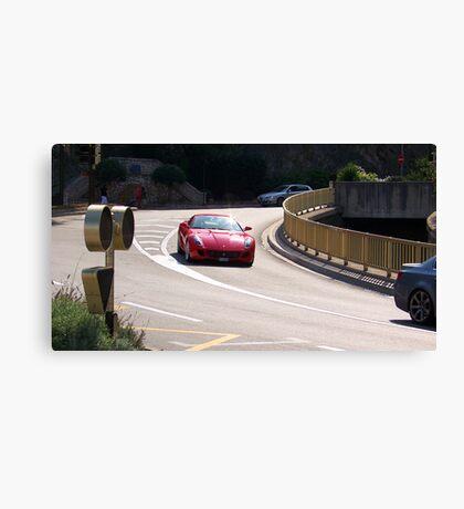 Red Ferrari California  Canvas Print