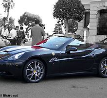 Black Ferrari California  by Sunil Bhardwaj