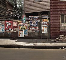 The back of a Baltimore grocery store, July 1938 by ryanurban