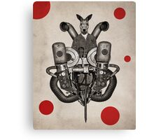 Anthropomorphic N°19 Canvas Print