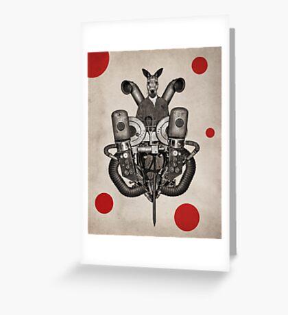 Anthropomorphic N°19 Greeting Card