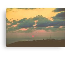 sundowns sunset Canvas Print