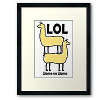 LOL Framed Print