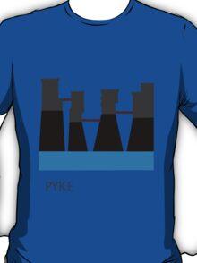 Game of thrones PYKE  (greyjoy seat) minimalism T-Shirt