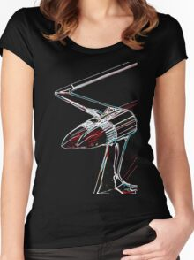 Cadillac tail fin Women's Fitted Scoop T-Shirt