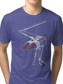 Cadillac tail fin Tri-blend T-Shirt