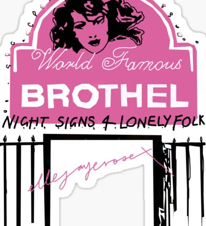 Night Signs 4 Lonely Folk #3 Sticker