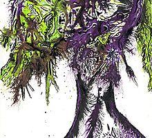 Abstract Acid Tree Of Life by peajaypanache