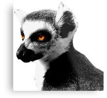 Leaping Lemurs Metal Print