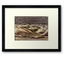 On the surface of Mars Framed Print