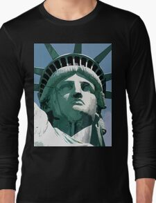 Statue of Liberty, New York, USA Long Sleeve T-Shirt