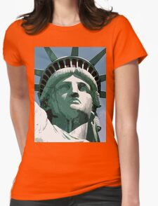Statue of Liberty, New York, USA Womens Fitted T-Shirt
