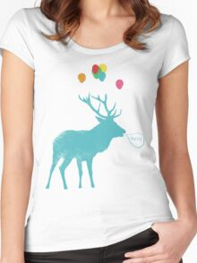 Stag Party Women's Fitted Scoop T-Shirt