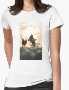 Vaporeon Womens Fitted T-Shirt