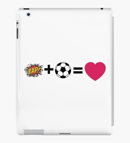 Z + L = love iPad Case/Skin