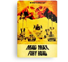 Mad Max Fury Road - Immortan Joe - Art Design Metal Print