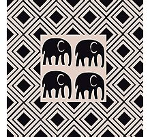 African Tribal Pattern No. 18 Photographic Print