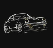 Porsche 911 Turbo Kids Tee