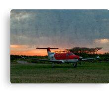 Sunset in the Zulu Farmlands Canvas Print