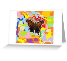 Butterfly Abstraction Greeting Card