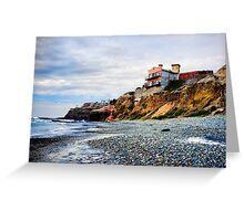 House on the Cliffs of Baja Greeting Card