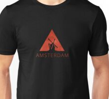 Amsterdam Hipster Triangle Unisex T-Shirt