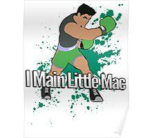 I Main Little Mac - Super Smash Bros. Poster