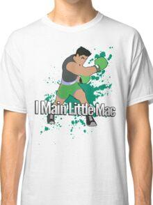 I Main Little Mac - Super Smash Bros. Classic T-Shirt