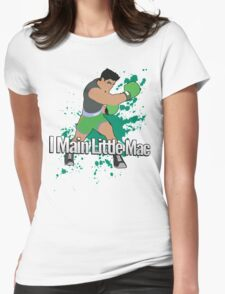 I Main Little Mac - Super Smash Bros. Womens Fitted T-Shirt