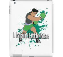 I Main Little Mac - Super Smash Bros. iPad Case/Skin