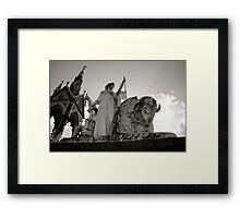 The American Allegory Framed Print