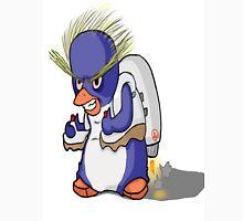 Penguin with Jet Pack Unisex T-Shirt
