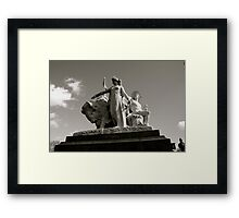 The American Allegory 2 Framed Print
