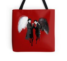 On the Side of the Angels Tote Bag
