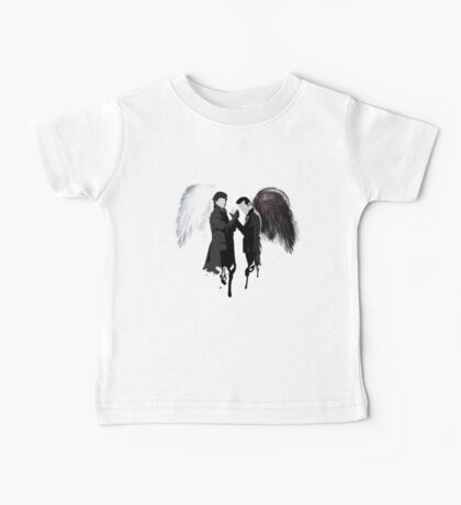 On the Side of the Angels Baby Tee