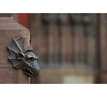 Detail of Strasbourg cathedrale Photographic Print