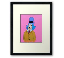 Benny On The Town Framed Print