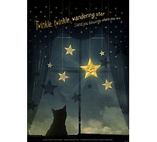 Twinkle, Twinkle Wandering Star... Photographic Print