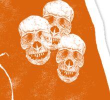 3 Coffins Sticker