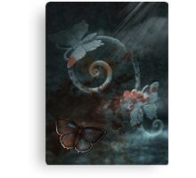 Chaos Butterfly Canvas Print