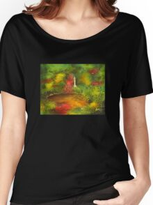 Japanese Pond Women's Relaxed Fit T-Shirt