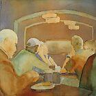 Pub Talk II by JennyArmitage